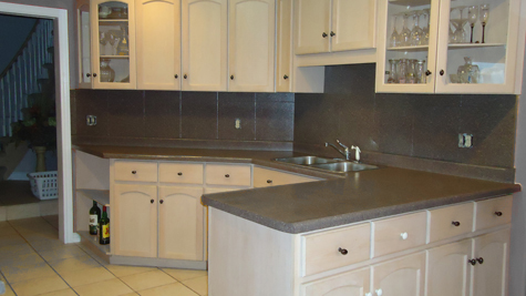 Kitchen Tile Refinishing Hamilton ON